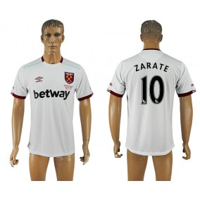 West Ham United 16-17 Zarate 10 Seconda Maglia Maniche Corte
