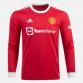 Prima Maglia Manchester United 2021/22 Manica Lunga